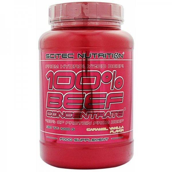 Scitec 100% Beef Concentrate Protein 1000 грScitec 100% Beef Protein 1000 гр
