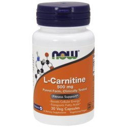 NOW L-Carnitine 30 капсули