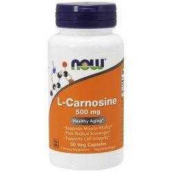 NOW Carnosine 500 мг 50 капсули