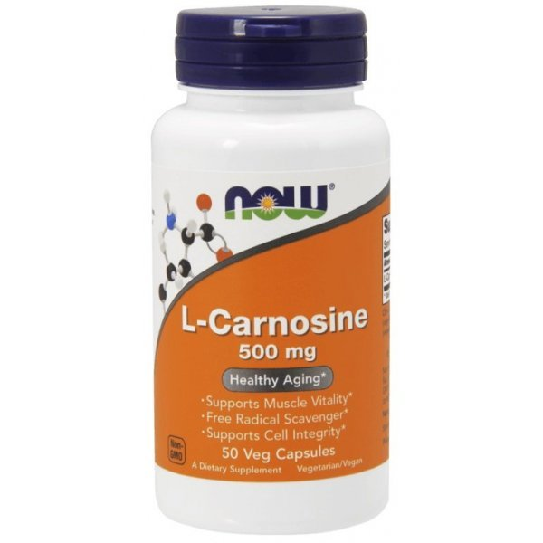 NOW Carnosine 500 мг 50 капсулиNOW78
