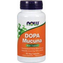NOW Dopa Mucuna 90 капсули