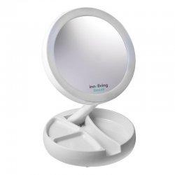 Увеличително козметично огледало INNOLIVING с LED светлина