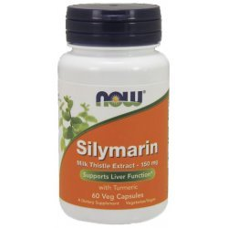 NOW Silymarin (Milk Thistle Extr.) 60 капсули