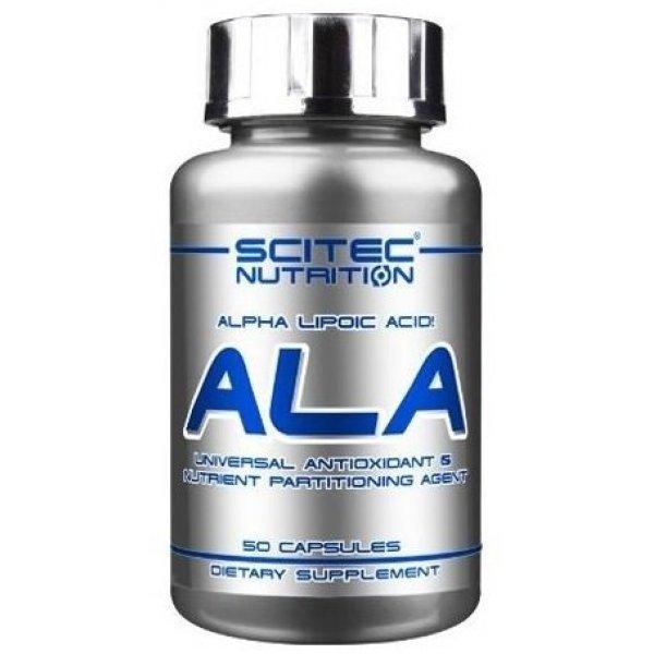 Scitec ALA 50 капсулиScitec ALA 50 капсули