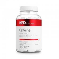 KFD Caffeine+ 200 мг 100 капсули