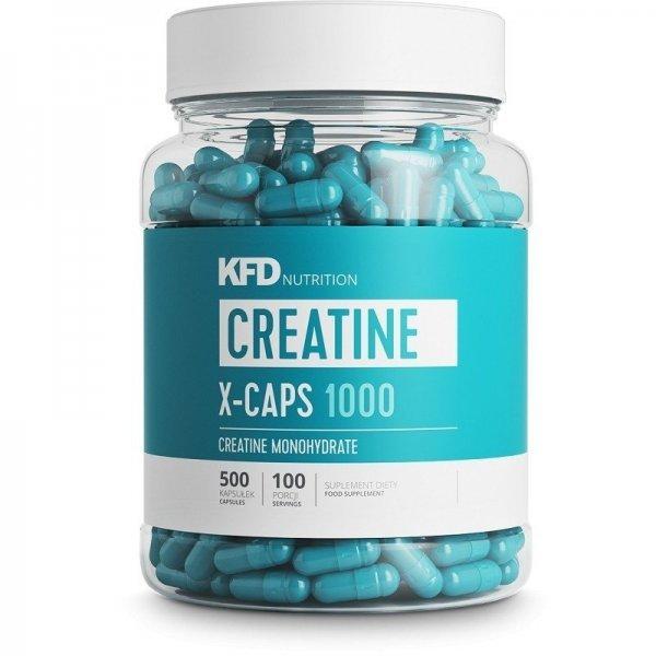 KFD Creatine X-Caps 1000 500 капсулиKFD5109-9204