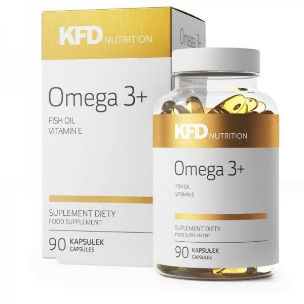 KFD Omega 3+ 90 капсулиKFD-Omega 3+