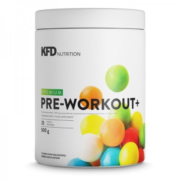 KFD Premium Pre Workout+ 500 грKFD-Pre-Workout