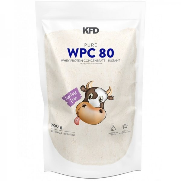 KFD Pure WPC 80 Instant Lactose Free 700 грKFD6222-11743