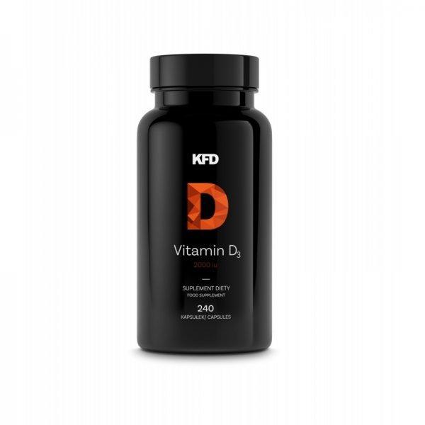 KFD Vitamin D3 2000IU 240 капсулиKFD-6359