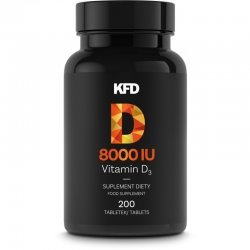 KFD Vitamin D3 8000iu 200 таблетки