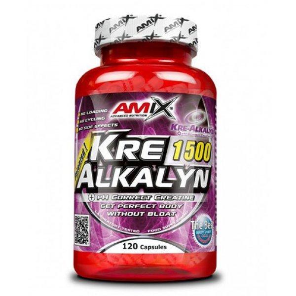 AMIX Kre-Alkalyn 1500 120 капсули AM206