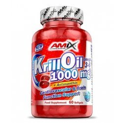AMIX Krill Oil 1000 мг 60 гел-капсули