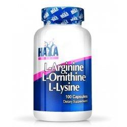 Haya L-Arginine / L-Ornithine / L-Lysine 100 капсули