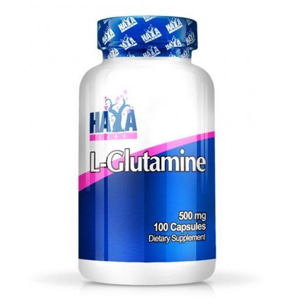 Haya L-Glutamine 500 мг 100 капсулиHaya L-Glutamine 100 капсули