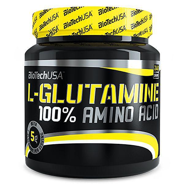 Biotech USA 100% L-Glutamine 240 гр.BT279
