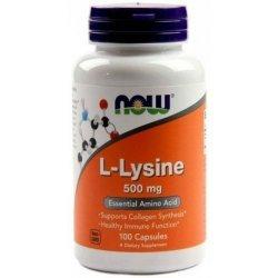 NOW Lysine 100 таблетки