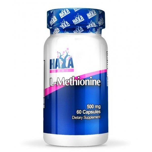 Haya L-Methionine 500 мг 60 капсулиHaya L-Methionine 500 мг 60 капсули