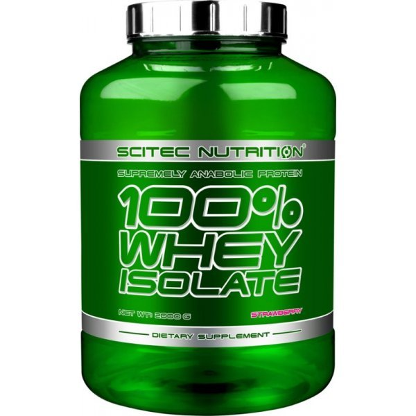 Scitec 100% Whey Isolate 2000 грWheyIsolate100
