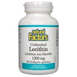 Natural Factors Lecithin 1200 мг 90 дражета