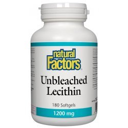 Natural Factors Lecithin 1200 мг 180 дражета