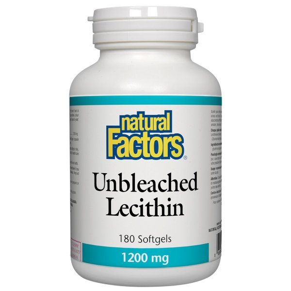 Natural Factors Lecithin 1200 мг 180 дражета2601