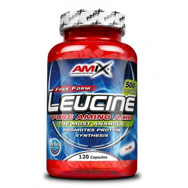 AMIX L-Leucine PURE 1000 мг 120 капсули АМ216