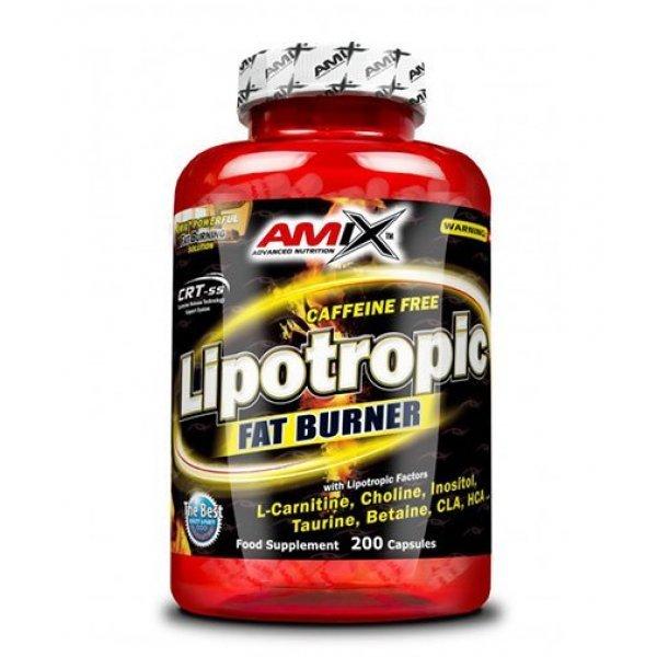 AMIX Lipotropic Fat Burner 200 капсули AM224