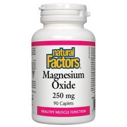 Natural Factors Magnesium 250 мг 90 каплети