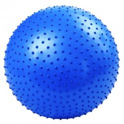 Масажна фитнес топка 65 см с помпа Armageddon Sports