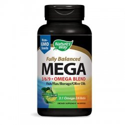 Nature's Way MEGA EFA BLEND 1450 мг 90 капсули