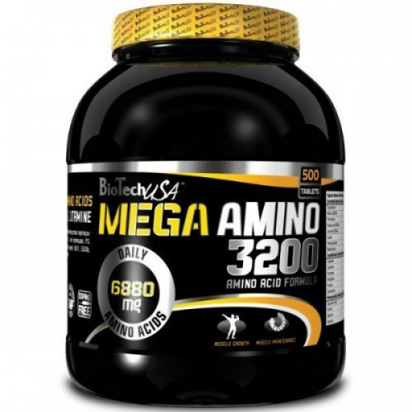 Biotech Mega Amino 3200 500 таблеткиBT393