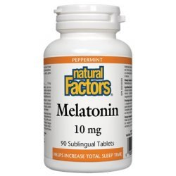 Natural Factors Melatonin 10 мг 90 таблетки