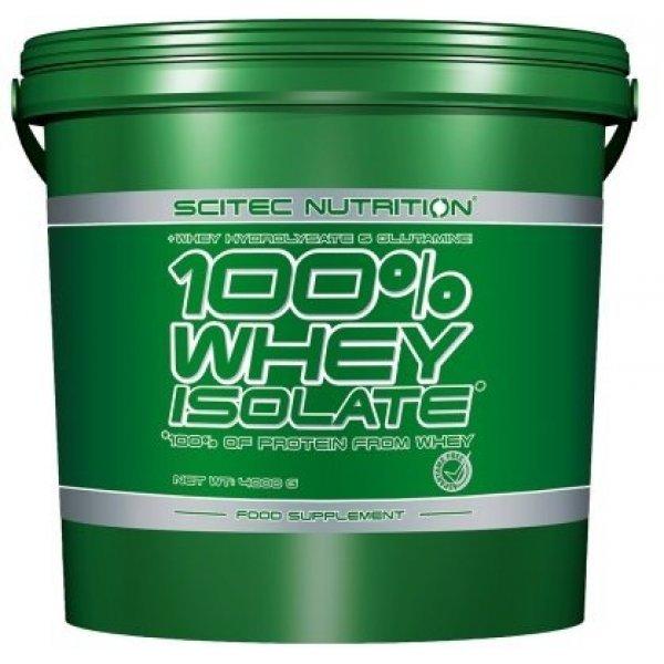 Scitec 100% Whey Isolate 4000 грwheyisolate4kg