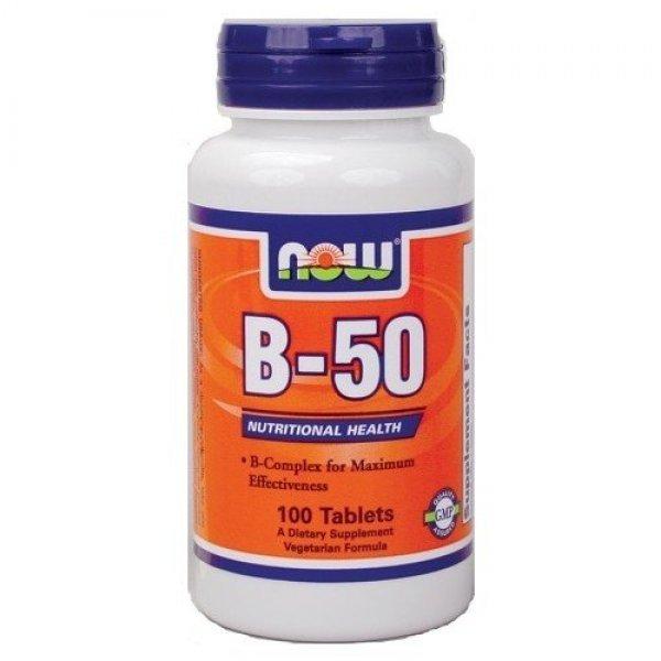 NOW Витамин B-50 100 таблеткиNOW426