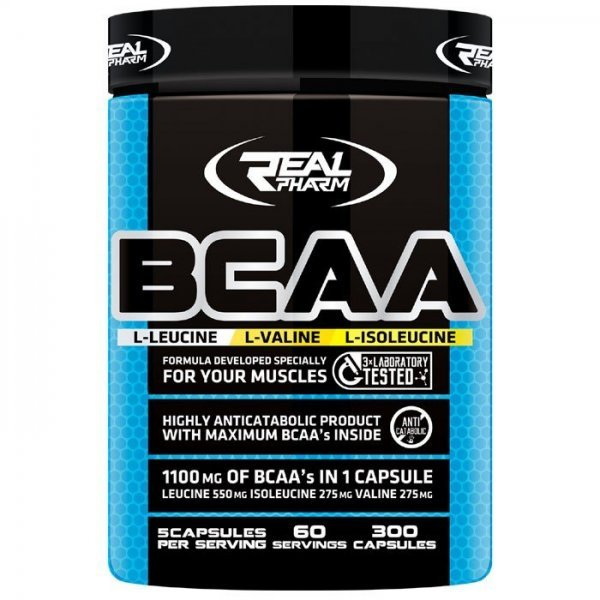 Real Pharm BCAA 300 капсулиRP19