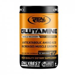 Real Pharm Glutamine 900 мг 300 капсули