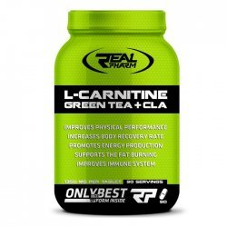 Real Pharm L-Carnitine, Green Tea & CLA 90 таблетки