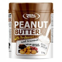 Real Pharm Peanut Butter with Proteins + 1000 гр