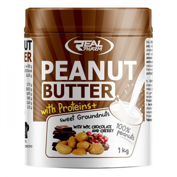 Real Pharm Peanut Butter with Proteins + 1000 грRP73
