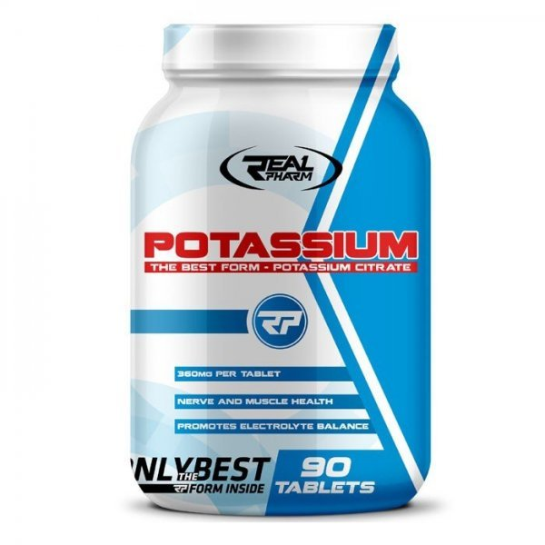 Real Pharm Potassium 1400 мг 90 таблеткиRP74