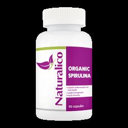 Naturalico Organic Spirulina 90 капсули