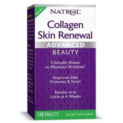Natrol Collagen Skin Renewal 120 таблетки