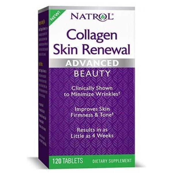 Natrol Collagen Skin Renewal 120 таблеткиNAT4001