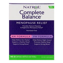 Natrol Complete Balance for Menopause AM/PM 2х30 капсули