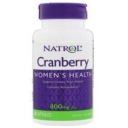 Natrol Cranberry 800 мг 30 капсули
