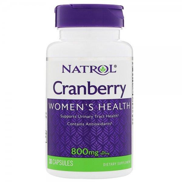Natrol Cranberry 800 мг 30 капсулиNAT373