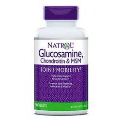 Natrol Glucosamine Chondroitin MSM 90 таблетки