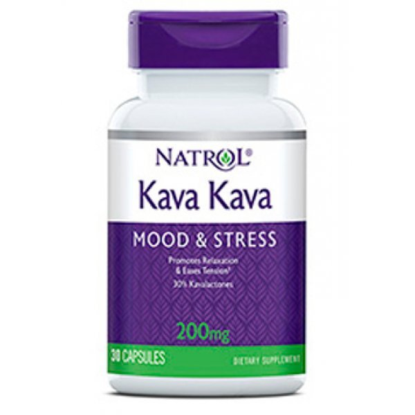 Natrol Kava Kava 200 мг 30 капсулиNAT408