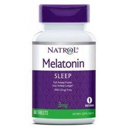 Natrol Melatonin 3 мг 60 таблетки